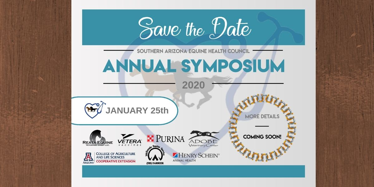 Southern Arizona Equine Health Care Symposium 2020